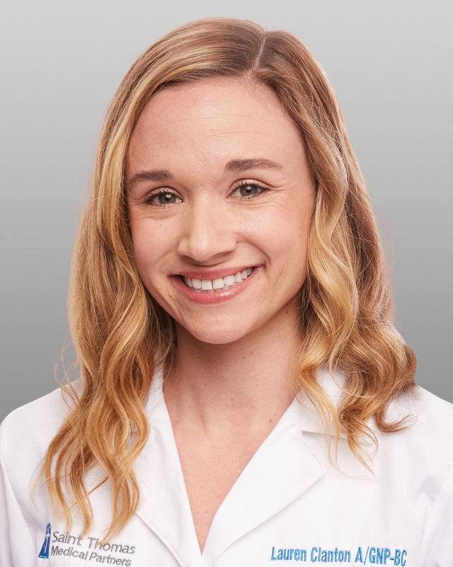 Lauren P. Clanton, A/GNP-BC